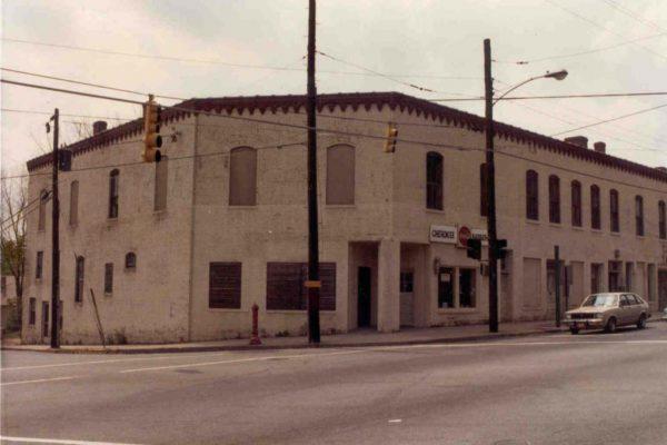 The Cherokee Barber Shop on 10th Street at Hemphill Avenue