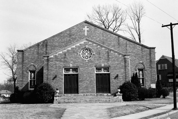 Church on Hemphill Avenue at Clayton Street